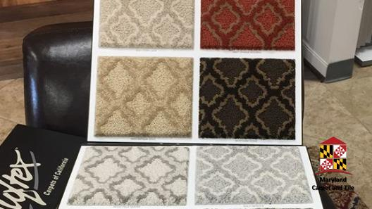 Carpet samples are like an open book